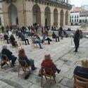 Ayuntamiento Cceres premia a empresaria Victoria Bazaga y a la periodista Elisa Blzquez