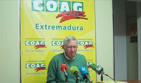 COAG Extremadura valora que la produccin agroganadera en 2018 ha sido casi normal