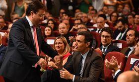 En la FIG de Zafra Pedro Snchez recalca su apuesta por una PAC bien financiada