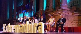 Gratitud y reivindicaciones de los Medallas Extremadura 2017