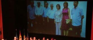 Diputacin de Badajoz homenajea a sus presidentes democrticos en II Da de la Provincia