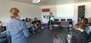 Pilar Bonilla, nueva directora de la Casa de la Mujer de Cáceres
