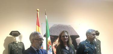 Reconocimiento a todas las mujeres que forman parte de la Guardia Civil en Cáceres