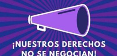 CCOO apoya las concentraciones en Extremadura para defender los derechos de las mujeres