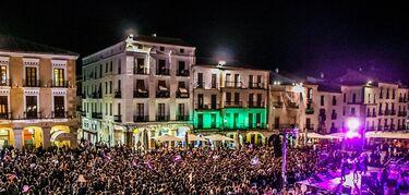 30.000 personas han participado en las manifestaciones con motivo Día Mujer en Extremadura