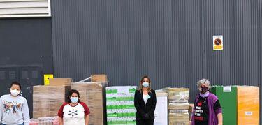 Mercadona dona más de 3.000 kilos de productos a la asociación Mujeres Sembrando de Mérida