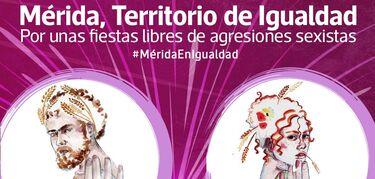 La Feria de Mérida cuenta con un punto de violeta contra la violencia de género