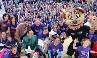 Más de 1.400 mujeres participan en la Carrera de la Mujer de Arroyo de la Luz