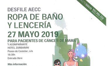 AECC organiza en Badajoz un desfile lencería para mujeres que han sufrido cáncer de mama