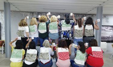 En Cáceres, mujeres desempleadas participan en un taller de empleabilidad