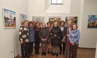 Asociación Mujeres Arco de la Estrella expone Paisajes para recordar en Palacio de la Isla