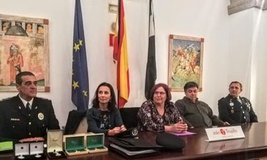 García Bernal destaca la profesionalización de la Policía Local en Extremadura