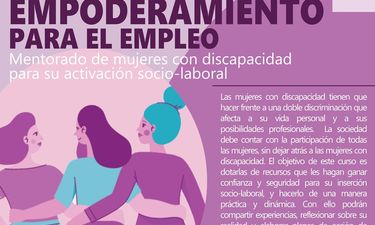 Cermi organiza en Mérida un curso sobre empoderamiento de mujeres con discapacidad