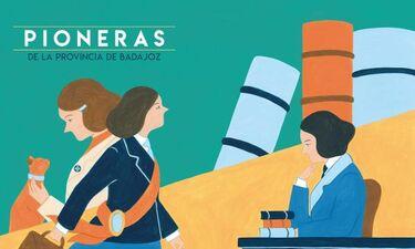 Mujeres pioneras son reconocidas por la Diputación Badajoz en una publicación turística
