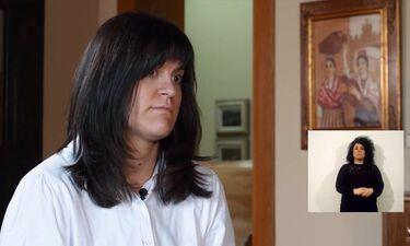 Lara Ruiz protagoniza el tercer vídeo de la campaña del 8M de la Diputación de Cáceres