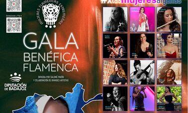 Una gala en solidaridad con las mujeres afganas reúne a 27 artistas flamencas en Badajoz