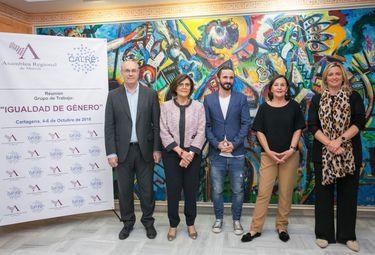 Blanca Martín asiste a la reunión del Grupo de Trabajo Igualdad Género de la CALRE