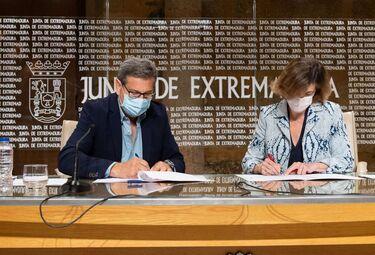 SEXPE y Fundación Caja de Extremadura impulsan el emprendimiento femenino en zonas rurales