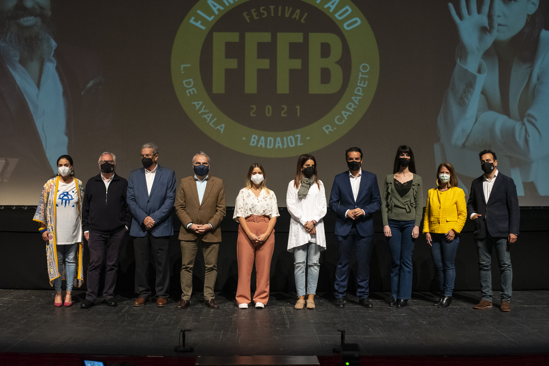 Un instante de la presentación del FFFB
