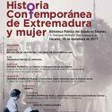 Jornada en Cceres analiza el tratamiento que la Historia a mujeres
