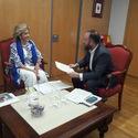 Herrera y Lobato estudian aumentar atencin vctimas violencia gnero en Almendralejo