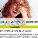 Las cooperativistas reivindican con la risa el Da Internacional de Mujer
