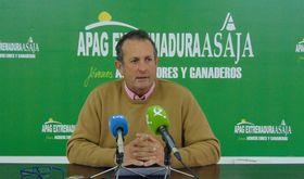 Juan Metidieri encabeza la nica candidatura a presidir APAG Extremadura Asaja