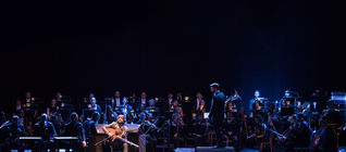 Daniel Casares y la Orquesta Sinfnica de Triana en Extremadura