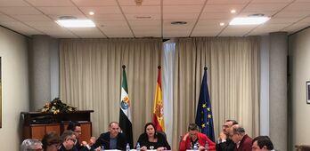 Begoa Garca informa al CAEX del abono de las ayudas de ovino y caprino