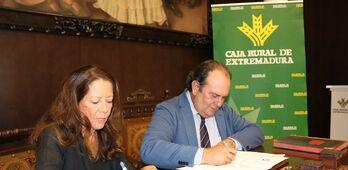 Caja Rural de Extremadura impulsa la promocin de los mejores caballos de la regin