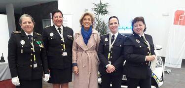 Extremadura cuenta con 109 mujeres policías locales de una plantilla de casi 1.500 agentes