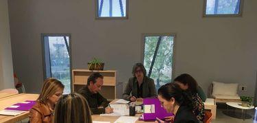 Leire Iglesias preside el Consejo de Dirección del Instituto de la Mujer de Extremadura