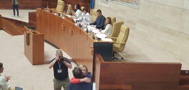 Blanca Martín es reelegida Presidenta de la Asamblea de Extremadura