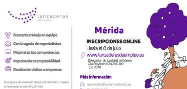 Mérida contará en julio con una nueva Lanzadera de Empleo
