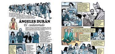 Mujeres extremeñas ilustradas para dar visibilidad a quienes lucharon por la igualdad