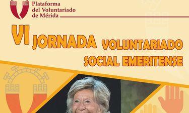 El voluntariado emeritense homenajea a Lola Dorado tras 20 años al frente de la Plataforma