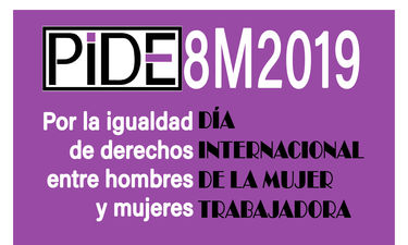 PIDE muestra su apoyo a las manifestaciones del 8 de marzo