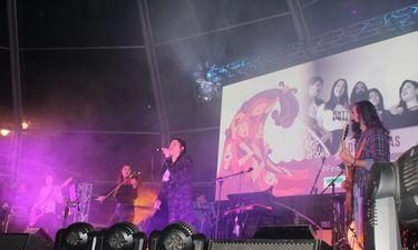Unas 1.000 personas arropan el primer concierto con motivo del Día de la Mujer en Mérida
