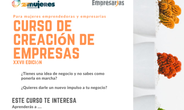 XXVII Curso de Creación y Consolidación de Empresas de Fundación Mujeres en Extremadura