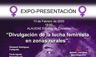 Café ALAUDAE Mérida recoge una expo-presentación fotográfica y de divulgación feminista