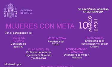 """La Delegación del Gobierno acoge la mesa redonda """"Mujeres con Meta"""" con motivo del 8M"""