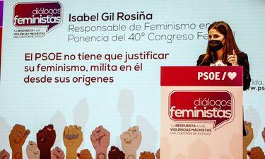 Gil Rosiña: PSOE no tiene que justificar su feminismo, ya que milita en él desde su inicio
