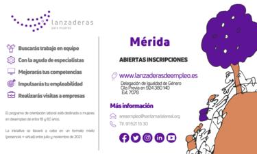 Siguen abiertas las inscripciones para la nueva Lanzadera de Empleo  en Mérida