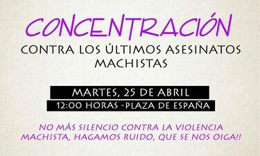 El Consejo Municipal de las Mujeres de Mérida convoca  una concentración contra los últimos asesinatos machistas