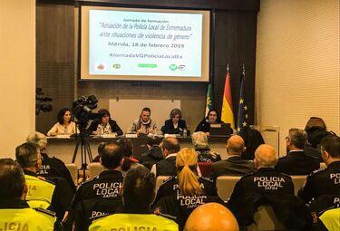Guía de actuación para la Policía Local de Extremadura ante casos de violencia de género