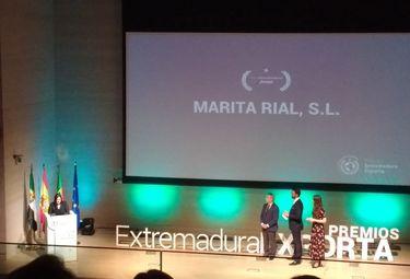 La empresa Marita Rial recibe el Premio Extremadura Exporta 2019