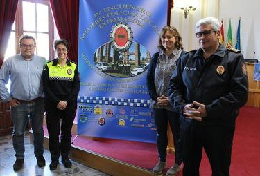 Mérida alberga este fin de semana el IV Encuentro de Mujeres Policías Locales