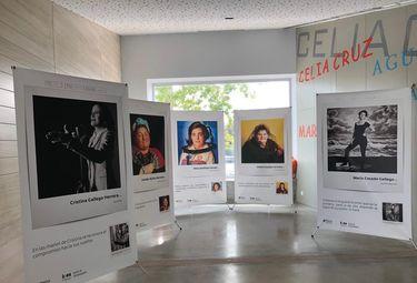 """La exposición """"Yo mujer, tú cómplice, ellas luchadoras"""" recala en Badajoz"""
