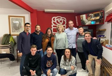 Isabel Albalá es la nueva secretaria general de Juventudes Socialistas de Miajadas