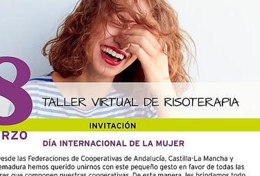Las cooperativistas reivindican con la risa el Día Internacional de Mujer